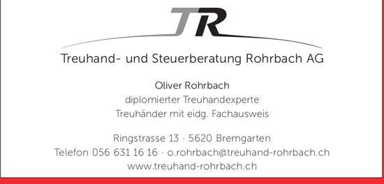 Rohrbach AG Bremgarten - Treuhand- und Steuerberatung