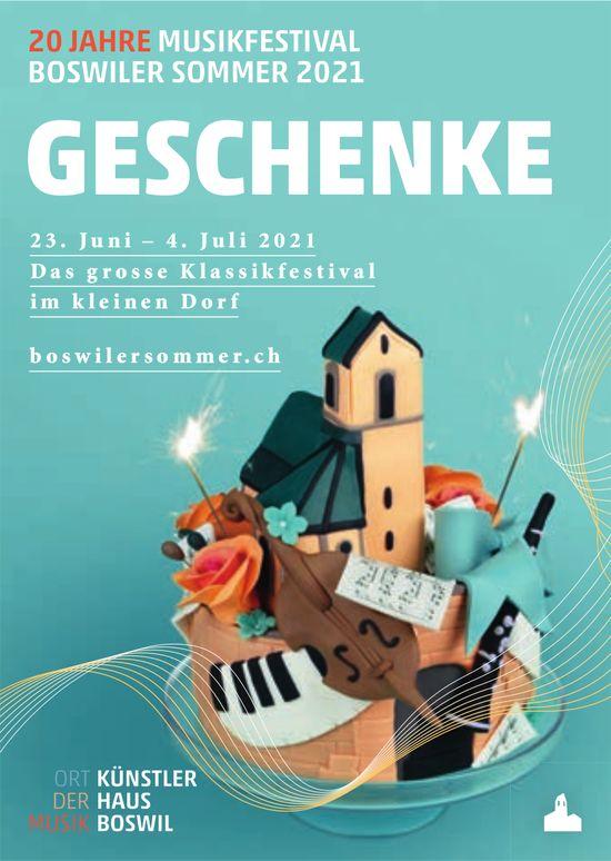 Klassikfestival, 20 Jahre Musikfestival, 23. Juni bis 4. Juli, Boswil