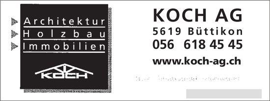 Koch AG Büttikon - Architektur, Holzbau und Immobilien
