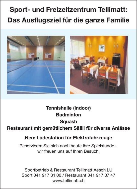 Sport- und Freizeitzentrum Tellimatt, Aesch LU - Das Ausflugsziel für die ganze Familie