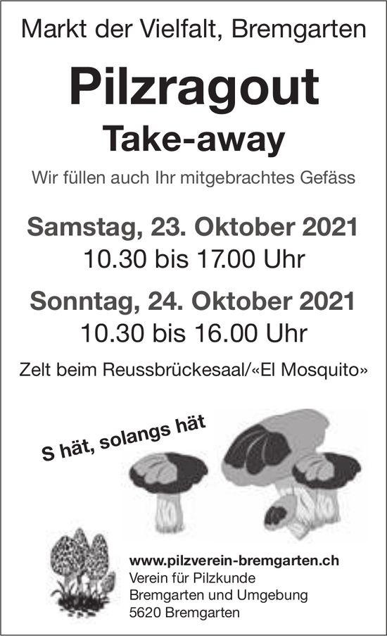 Pilzragout Take-away, 23. und 24. Oktober, Markt der Vielfalt