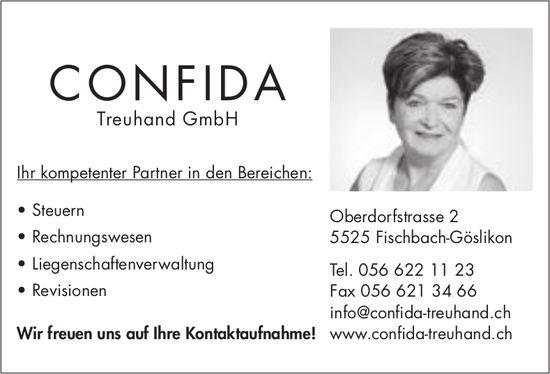 Confida Treuhand GmbH, Fischbach-Göslikon - Ihr kompetenter Partner