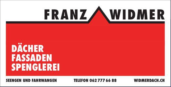 Franz Widmer, Seengen und Fahrwangen - Dächer, Fassaden, Spenglerei