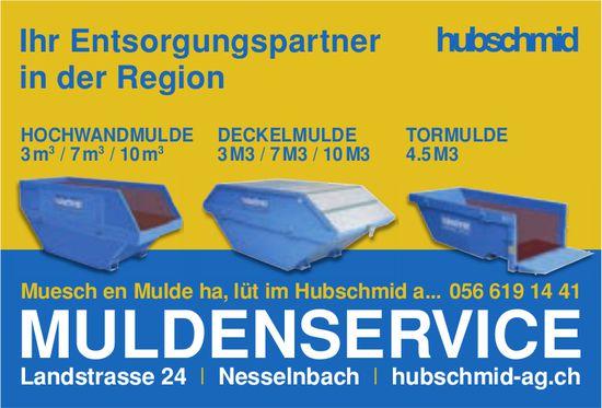 Hubschmid AG, Nesselbach - Muldenservice