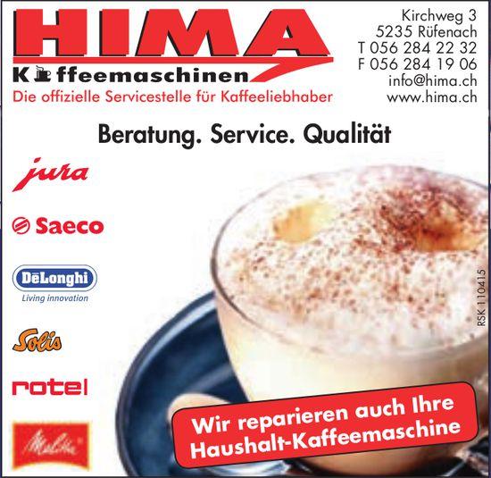 Hima, Rüfenach - Beratung. Service. Qualität