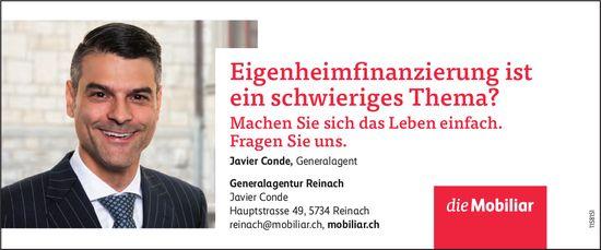 Die Mobiliar Generalagentur, Reinach - Eigenheimfinanzierung ist ein schwieriges Thema?