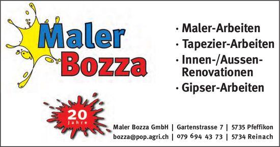 Maler Bozza GmbH, Pfeffikon - Maler-, Tapezier- und Gipser-Arbeiten,  Innen-/Aussen-Renovationen