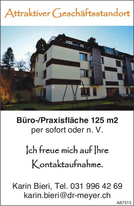 Büro-/Praxisfläche 125 m2, zu vermieten