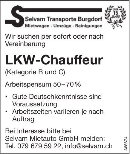 LKW-Chauffeur, Selvam Mietauto GmbH, Burgdorf,  gesucht