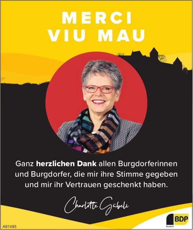 Ganz herzlichen Dank allen Burgdorfer/innen, die mir ihre Stimme gegeben und mir ihr Vertrauen geschenkt haben.