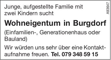 Wohneigentum in Burgdorf, zu kaufen gesucht