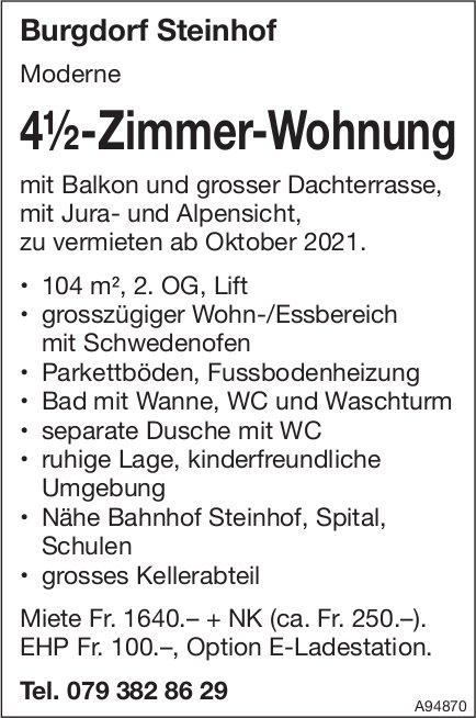4.5-Zimmer-Wohnung, Burgdorf, zu vermieten