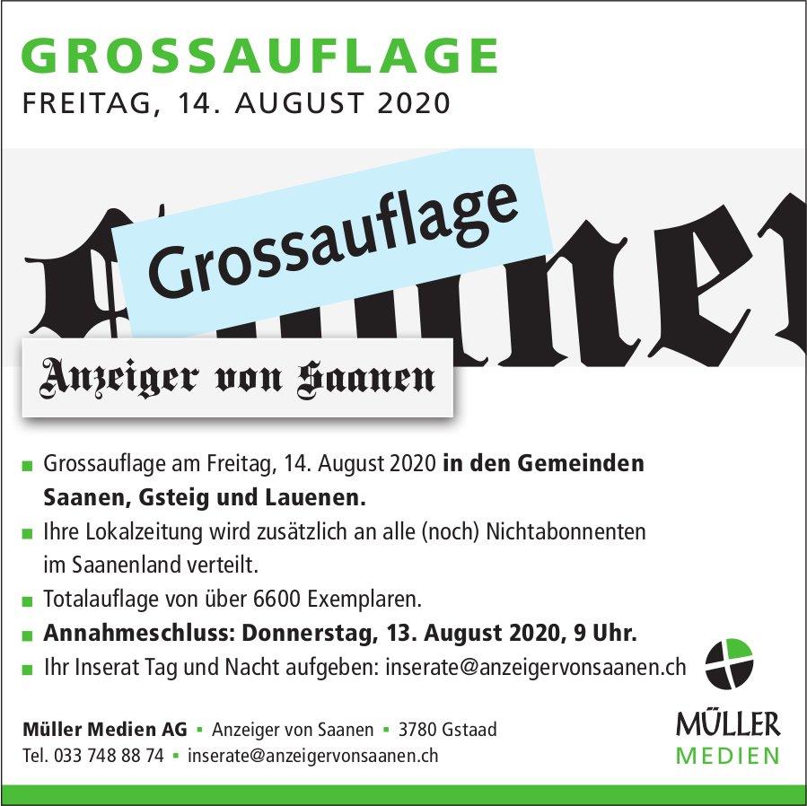 Grossauflage Müller Medien
