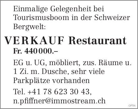 Restaurant, zu verkaufen