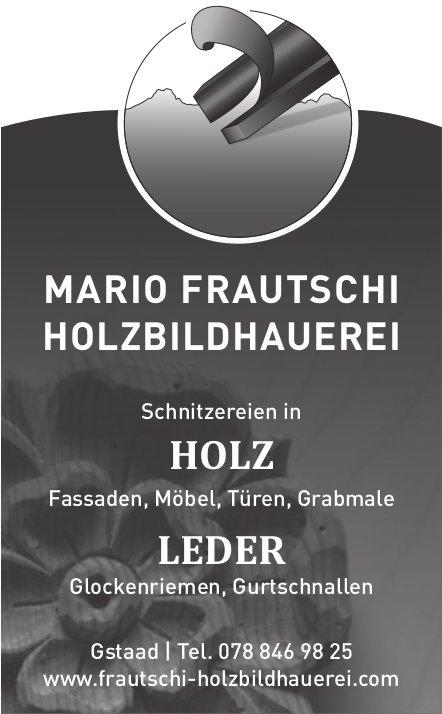 Mario Frautschi Holzbildhauerei, Gstaad - Schnitzereien in Holz & Leder