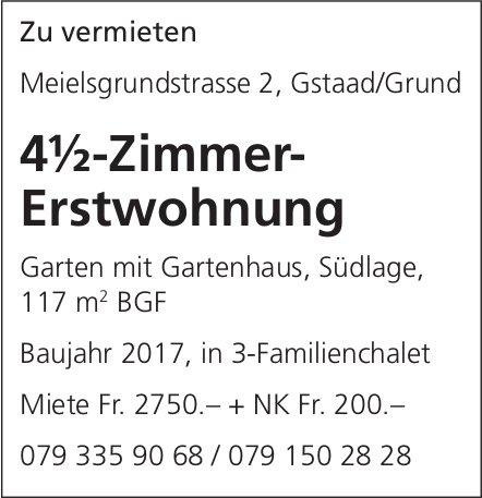 4.5-Zimmer-Erstwohnung, Gstaad/Grund, zu vermieten