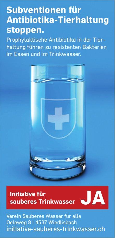 Initiative Sauberes Trinkwasser JA