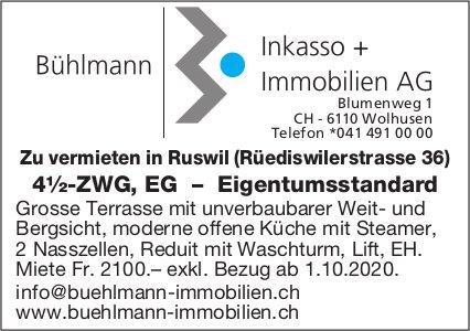 4.5-Zimmer-Wohnung, Ruswil,  zu vermieten