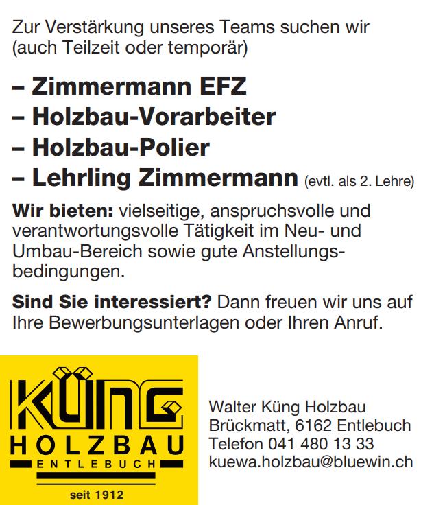 Walter Küng Holzbau