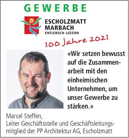 Gewerbe, Escholzmatt-Marbach - «Wir setzen bewusst auf die Zusammenarbeit mit den einheimischen Unternehmen, um unser Gewerbe zu stärken.»