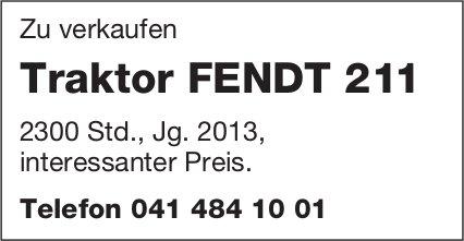 Traktor FENDT 211 zu verkaufen