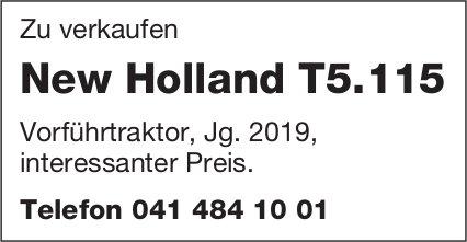 Vorführtraktor New Holland T5.115 zu verkaufen