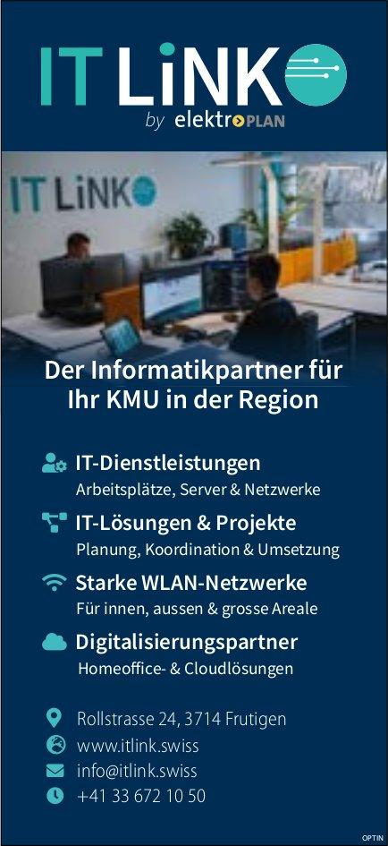 IT Link, Frutigen - Der Informatikpartner für Ihr KMU in der Region