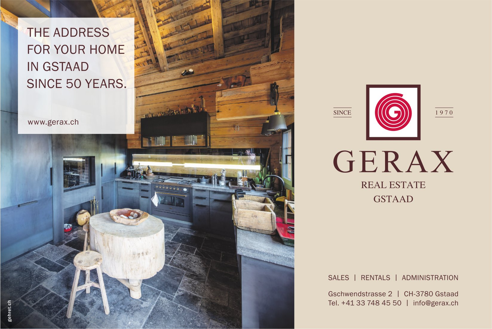 GERAX, Gstaad - Real Estate Gstaad