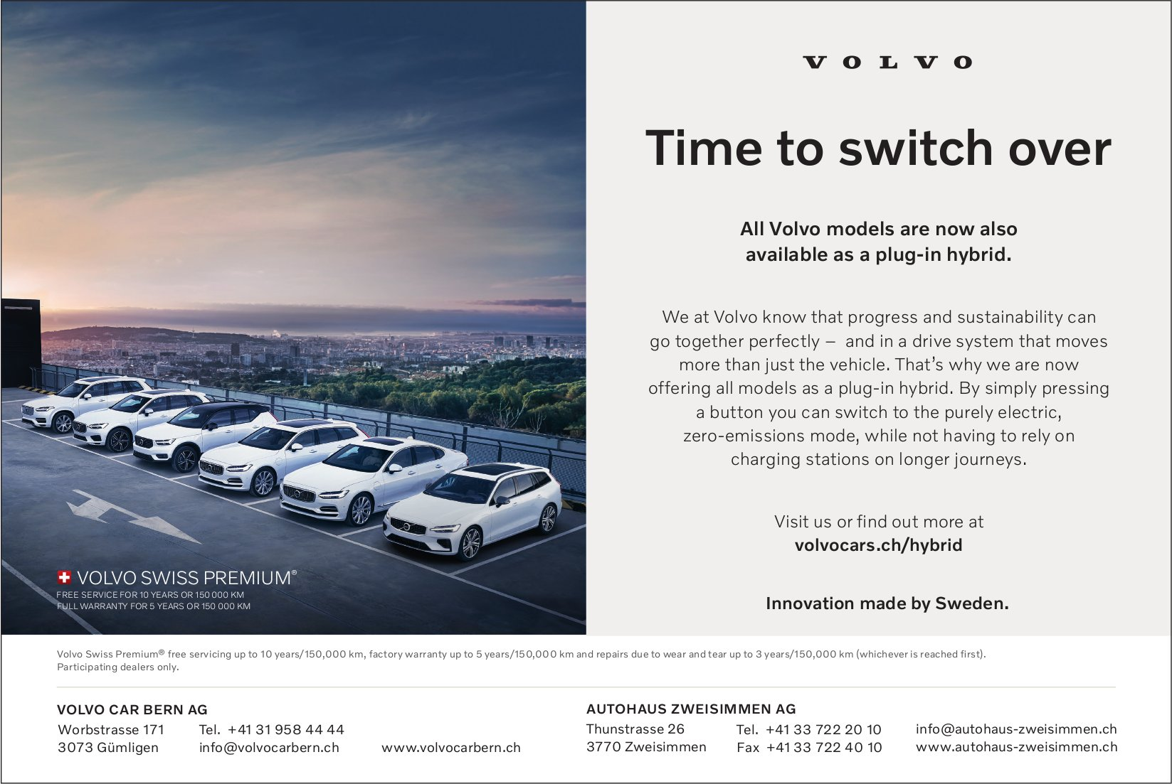 Volvo - Time to switch over