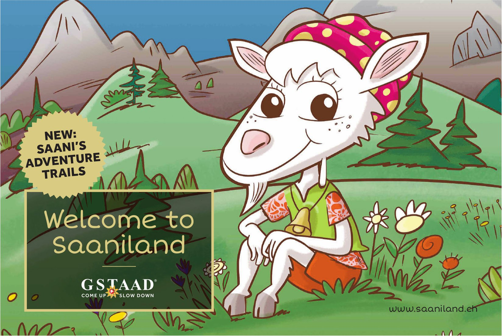 Welcome to Saaniland - Saani's adventure trails