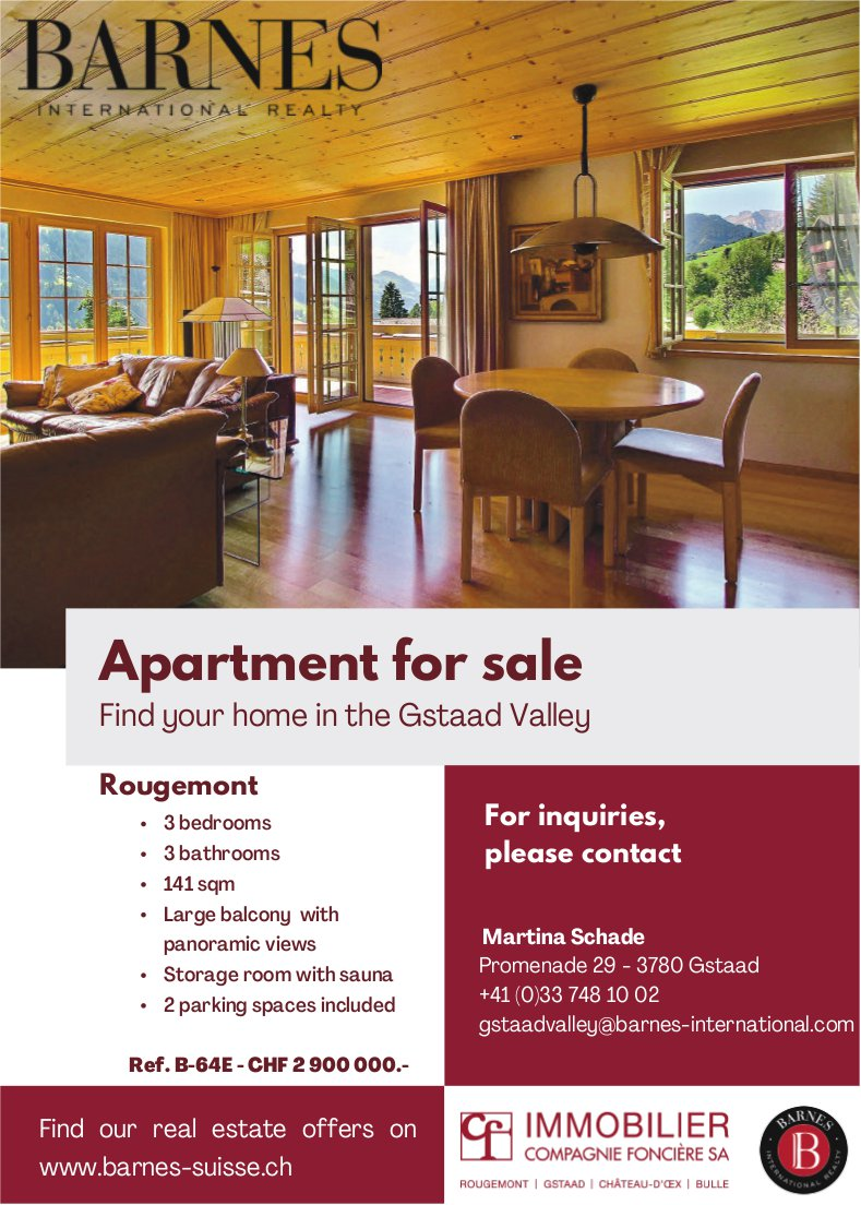 Apartment for sale, Rougemont