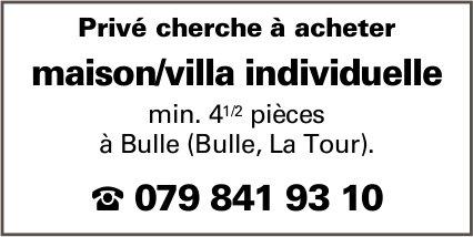 Maison/villa individuelle, 4.5 pièces, Bulle,  à vendre