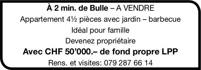 Appartement, 4.5 pièces, Bulle,  à vendre