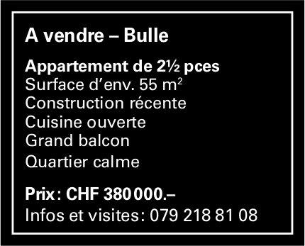 Appartement, 2½ pièces, Bulle, à vendre