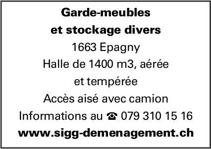 Garde-meubles et stockage divers, Epagny, à louer