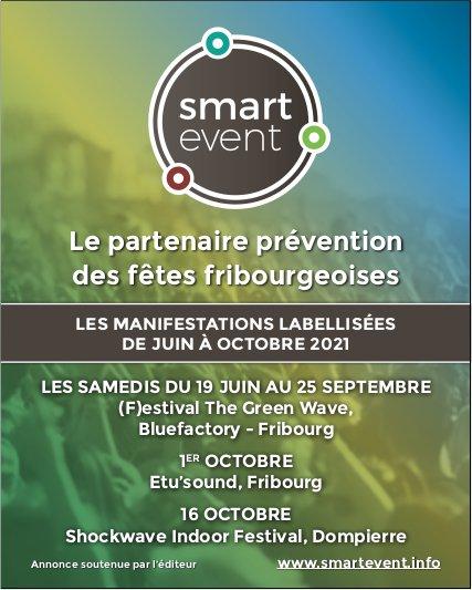 Smartevent - Le partenaire prévention des fêtes fribourgeoises