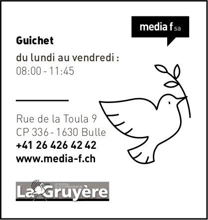 Media f SA, Bulle - Guichet
