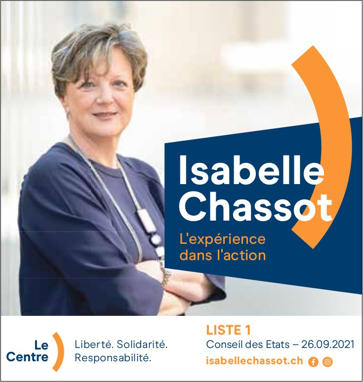 Isabelle Chassot, Conseil des Etats 26 septembre 2021