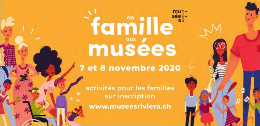 En famille aux musées, 7-8 novembre, Musées rivièra