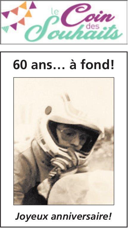 Le coin des souhaits, 60 ans… à fond!