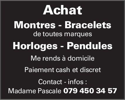 Achat montres -bracelets de toutes marques