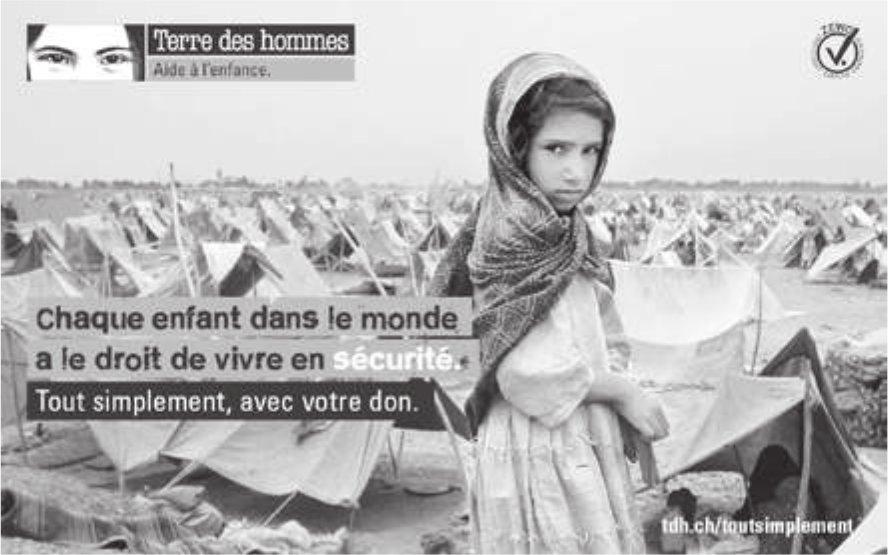 Terre des hommes - Chaque enfant dans le monde a le droit de vivre en sécurité.