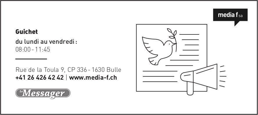 Media f SA, Bulle - Guichet Le Messager