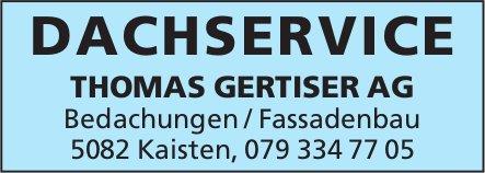 THOMAS GERTISER AG, Kaisten - Dachservice / Bedachungen / Fassadenbau