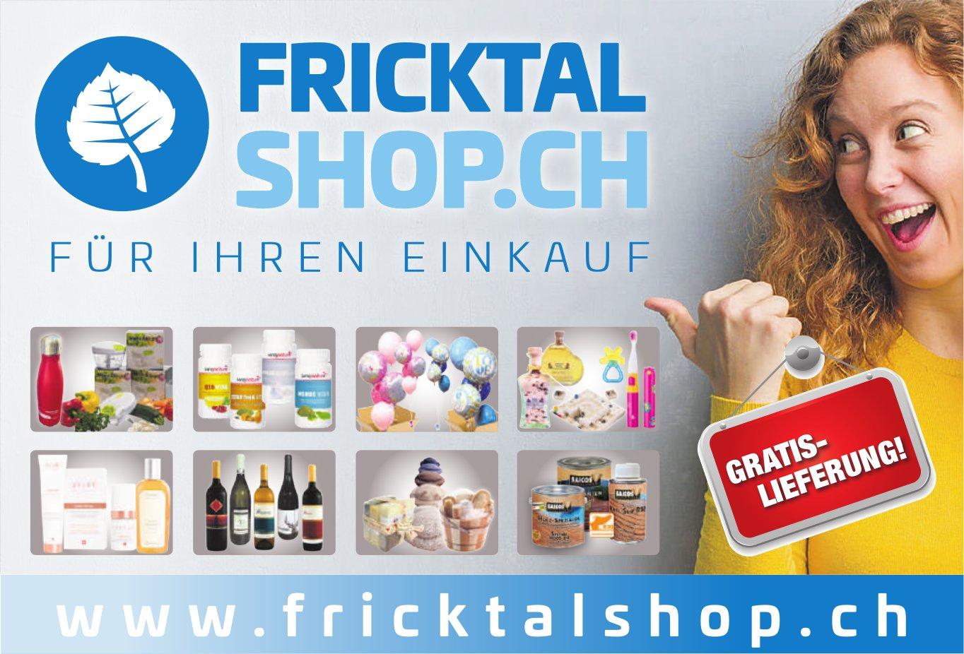 Fricktal Shop.ch - Gratis-Lieferung!