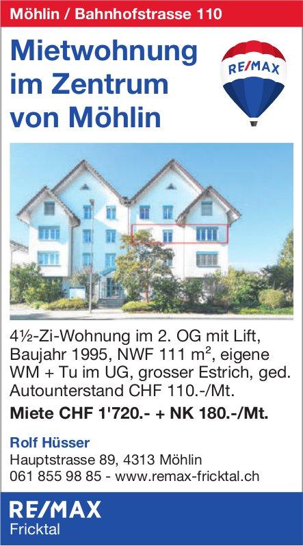4.5-Zi-Wohnung, Möhlin, zu vermieten