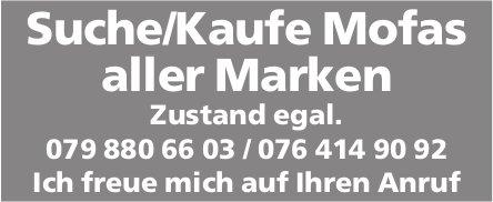 Suche/Kaufe Mofas aller Marken