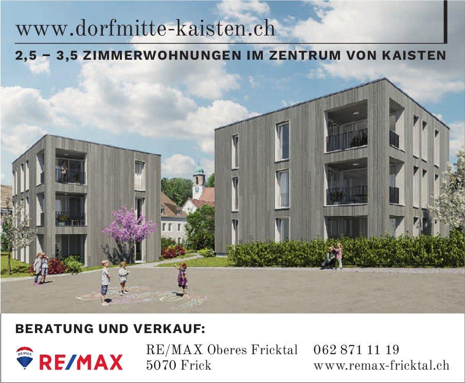 2, 5–3, 5 Zimmerwohnungen im Zentrum von kaisten, zu verkaufen