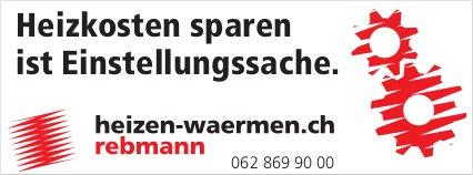 Rebmann - Heizkosten sparen ist Einstellungssache.