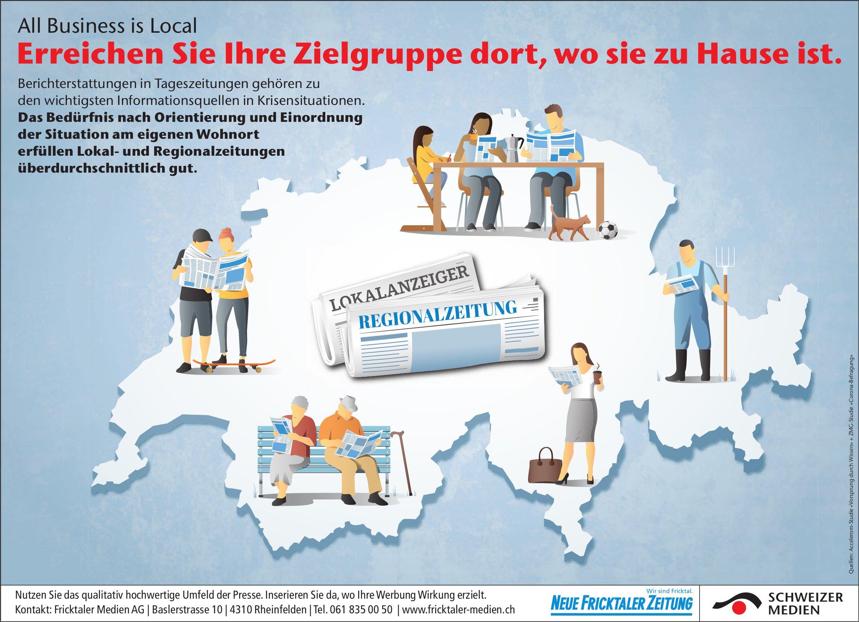 Fricktaler Medien AG, Rheinfelden - Erreichen Sie Ihre Zielgruppe dort, wo sie zu Hause ist.